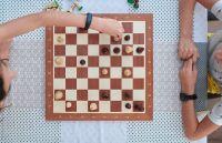 Dos niños roquenses en el podio de un Encuentro de Ajedrez Patagónico