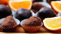 Un permitido: trufas veganas de chocolate y naranja ¡en menos de 10 minutos!