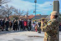 Hoy se realizó el primer funeral de honor para un héroe de Malvinas
