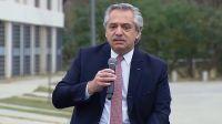 """Alberto Fernández: """"Todos los candidatos deben dejar sus cargos"""""""