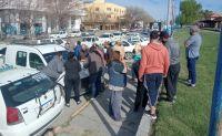 Al Municipio y al Concejo Deliberante: Los taxistas se movilizaron en repudio a las supuestas agresiones recibidas