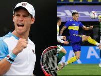 Argentina y Bielorrusia chocan por la Copa Davis y Boca juega en Tucumán