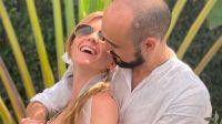 Abel Pintos se casó en secreto con Mora Calabrese: las fotos de la boda