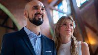Así fue el casamiento por iglesia de Abel Pintos y Mora Calabrese