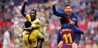 Tarde pero seguro: Pelé felicitó a Messi por su récord de goles con Argentina