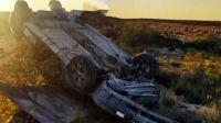 Un hombre de 38 años falleció tras volcar cerca de Playas Doradas