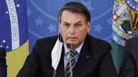 Le negaron el ingreso: Bolsonaro no pudo entrar a la cancha por no estar vacunado