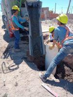 Buenas nuevas: Ya comenzó la obra de red eléctrica en el barrio Carlos Soria