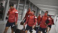 """Independiente empató y un grupo de barras se metió al vestuario para """"apretar"""" al equipo"""