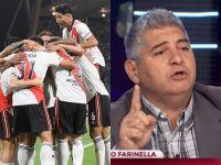 """Video: Farinella, de la """"victoria épica"""" del equipo de Gallardo al """"dejen de llorar"""" para Boca"""