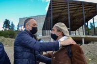 Doñate anunció aportes millonarios para reparar escuelas afectadas el temporal de viento