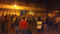 Luego de ser recibidos, levantaron el acampe frente al Municipio