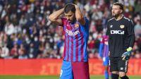 El Kun Agüero fue titular y no alcanzó: Barcelona cayó ante Rayo Vallecano