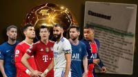 Escándalo: Se filtró quién será el ganador del Balón de Oro