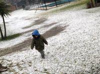 ¿Nieve para esta noche en Roca?