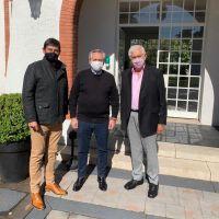 Petroleros se reunió con Fernández en Olivos y discutieron las proyecciones futuras