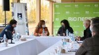 Carreras recibió a Vizzotti para analizar la situación epidemiológica de la provincia