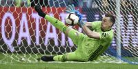 Armani dio negativo y podrá atajar en el debut ante Chile