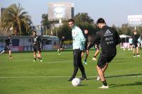 Scaloni probó el posible 11 titular para el debut de la Selección en la Copa América