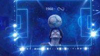 Copa América: El emocionante homenaje de la Conmebol a Maradona
