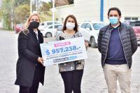 Con lo recaudado en multas, el Municipio entregó casi un millón de pesos al hospital