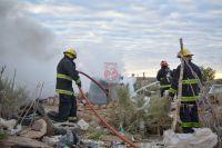 Importante incendio destruyó por completo una casilla